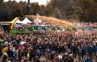 Nieuw boerenprotest in Amsterdam. Malieveld valt af