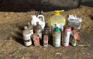 Flevolandse boeren en tuinders ruimen 26,5 ton middelen op