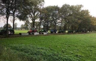 Boerenprotest Winterswijk groter dan verwacht