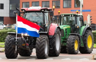 LIVEBLOG: boeren gaan de weg op uit protest
