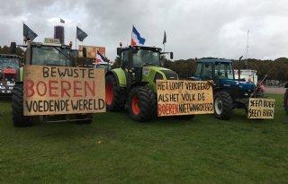 Trekkers+verboden+bij+boerenprotest+in+Utrecht