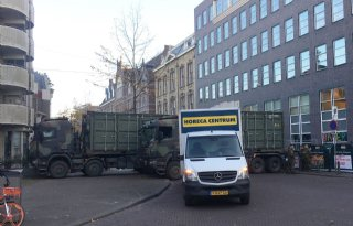 Defensieminister verdedigt inzet zwaar legermaterieel bij protest
