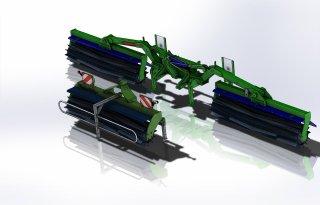 Snel groenbemester verkleinen met GreenCutter-Twin
