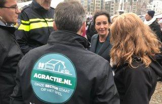 Burgemeester Halsema: we mogen boeren dankbaar zijn