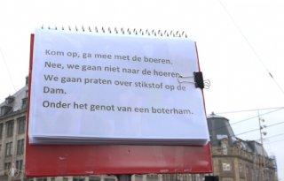 Boeren vertellen in Amsterdam hun verhaal