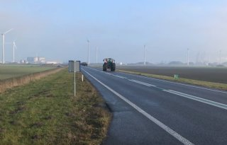 Boerenactie: van Vlagtwedde naar Eemshaven