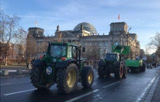 Protesten Duitse boeren houden aan