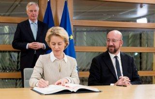 Europese+Unie+tekent+week+voor+brexit+verdrag+met+Britten