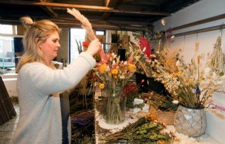 Lokale bloemisten betalen geen bezorgkosten meer