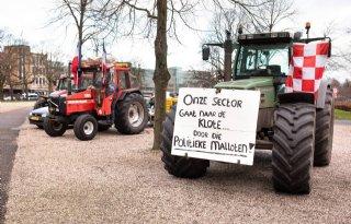 Toch+boerenprotest+in+Den+Haag