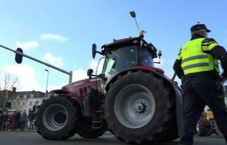 Boerenprotest+bij+distributiecentrum+Albert+Heijn