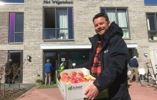 Elke week gratis appels naar zorgcentra