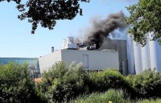 Zeer grote brand bij DOC Kaas