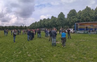 Opkomst boerenprotest Malieveld valt tegen