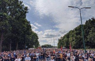 Vijf mensen opgepakt voor verstoren boerenprotest