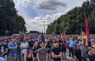 Boerenprotest 'gemoedelijk en ordentelijk verlopen'