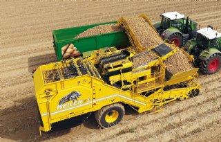 Ropa ziet afzet aardappelrooiers groeien