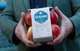 Albert Heijn presenteert eigen conceptappel Sprank