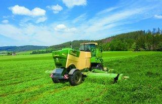 Krone Big M 450 CR nu ook met rollenkneuzer