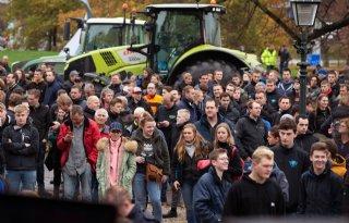 Politie: 'Goed contact met boeren tijdens protest'