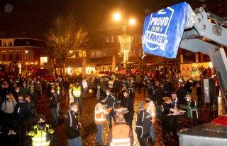 Stikstofprotest boeren en burgers in Winterswijk