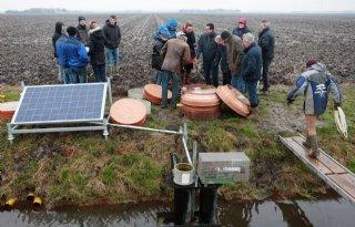 Ruim 1 miljoen euro voor waterprojecten Groningse boeren