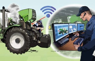 Machines en mechanisatie kunnen niet zonder onlinewereld