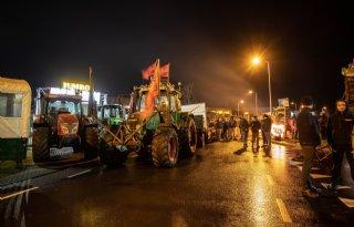 Ook boerenprotest bij Jumbo in Raalte
