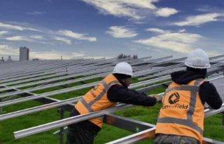 Bij Avebe verrijst een zonneakker van 10 hectare