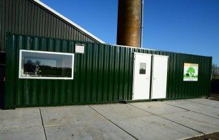 Melkveehouders Abbenbroek maken boerenkaas in container