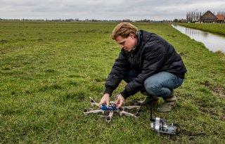 Droneproef+verjaagt+ganzen+in+Starnmeer