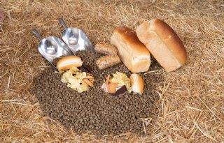 Varkensvoer bevat 100 procent resten uit voedingsindustrie