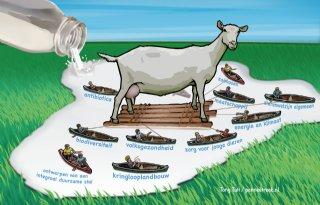 LTO-specialist: 'Bouwstop haalt schwung uit melkgeitensector'