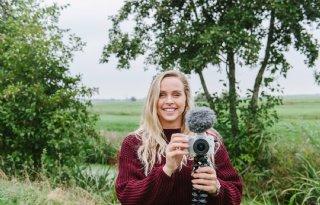 Vlogger Leoni Goudkuil duikt in wereld van zuivel en kaas
