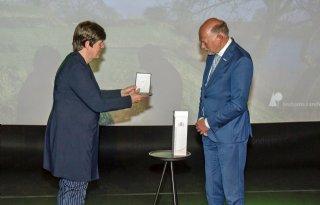 Jan Baan onderscheiden als bruggenbouwer Brabantse natuur en landbouw