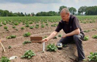 Belgisch project plaatst vijfhonderd sensoren in aardappelvelden