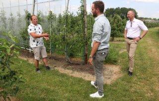 Gewasbescherming en zoetwater op netvlies Kamerlid Derk Boswijk