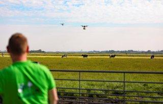 Drone vervoert streekproducten van platteland naar stad
