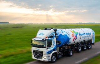 FrieslandCampina heeft eerste truck op waterstof