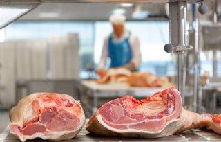 Vleesvarkensnotering Vion daalt met 3 cent