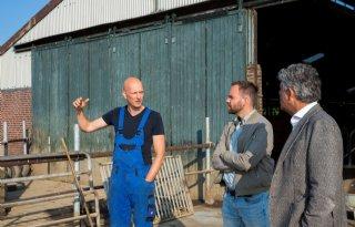 Inbrekers slaan toe na evacuatie melkveehouderij Roermond