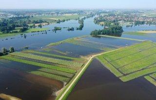LNV werkt aan regeling waterschade in uiterwaarden