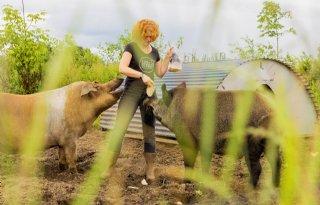 Inge Vleemingh: 'Het is hier geen getrut met varkentjes'