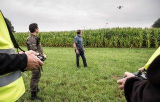 Drones op zoek naar hennep in Limburg