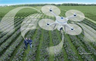 Drone zet eerste stap in blauwe bessen