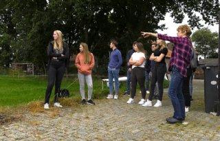 Nieuwe studenten HAS Den Bosch leren veehouderij kennen