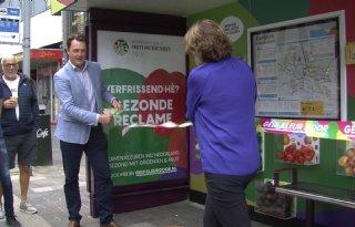 De eetbare bushalte in Breda is een feit