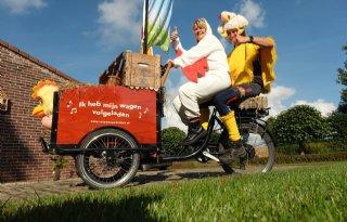Op+de+bakfiets+met+eieren+naar+Barneveld