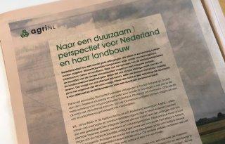 Scheuring in AgriNL door actieplan stikstof