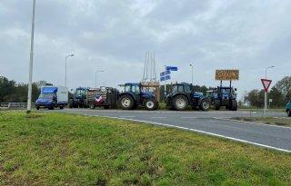 Boerenprotest Krimpenerwaard vreedzaam verlopen